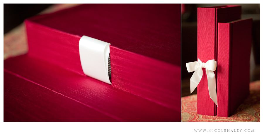 nicole haley photography - deluxe japanese book cloth silk album