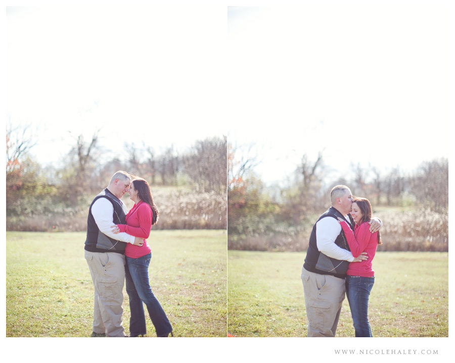nicole haley photography, fall engagement in michigan