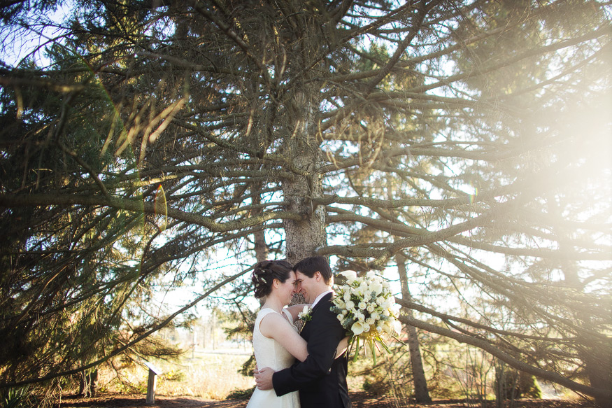 Matthaei Botanical Gardens Wedding By Nicole Haley Photography