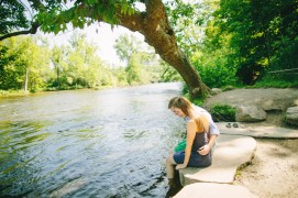 Engagement Session at the Arb | Nicole Haley Photography