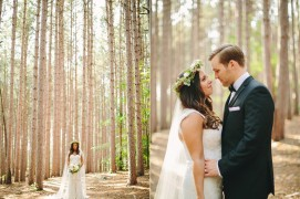 Woodland Wedding Photos | Nicole Haley Photography