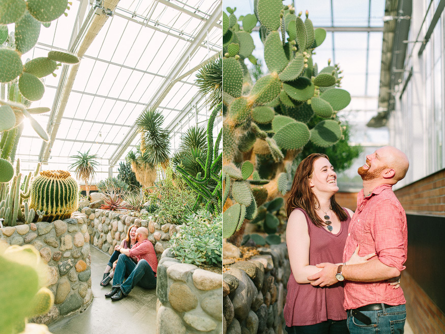 PIN Matthaei Botanical Gardens Engagement Session | Nicole Haley Photography