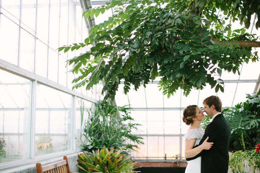 Carrie John Matthaei Botanical Gardens Wedding And