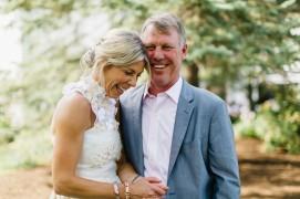 Backyard Wedding in Michigan by Nicole Haley Photography 43