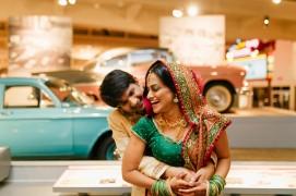 Indian wedding by Michigan wedding photographer, Nicole Haley