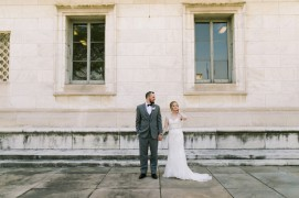 Gem Theatre Wedding in Detroit by Nicole Haley Photography